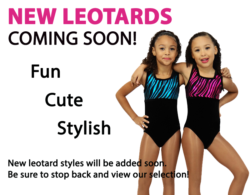 New leotards coming soon